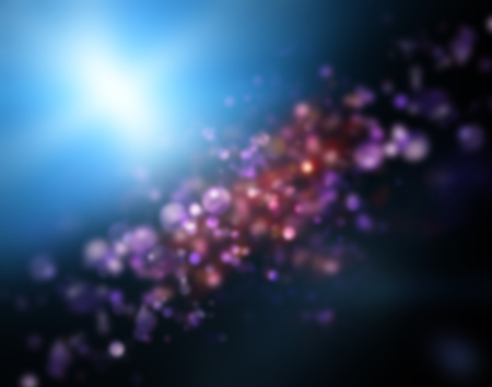 lensflare: Glowing lights and orbs background