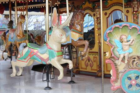 Vintage merry go round animals