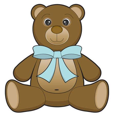 장난감 곰 일러스트