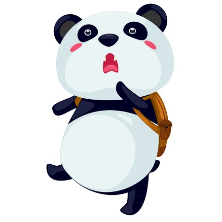 assassin: panda vector