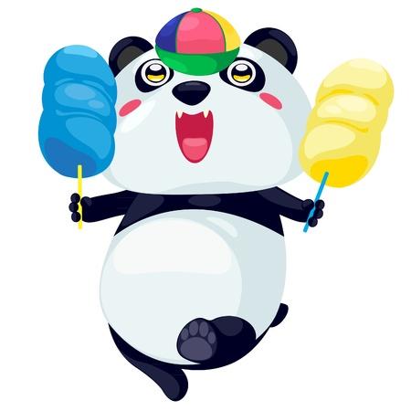 Panda vecteur Vecteurs
