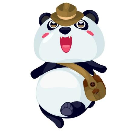 armband: panda vector