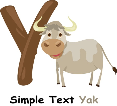 yak: illustration abc Illustration