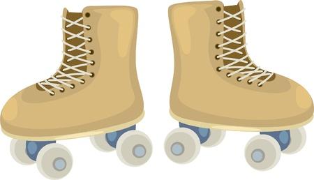 illustration Skate shoes