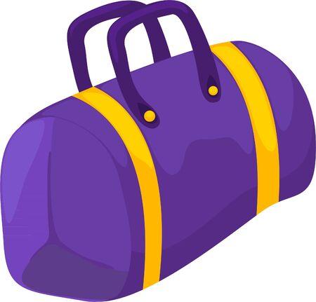 illustration sport bag  Stock Vector - 12129814