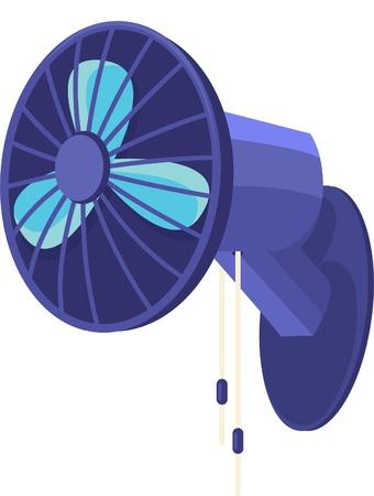 illustration a fan