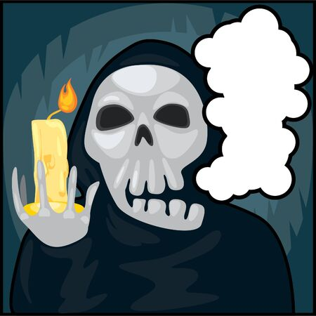 candle ghost Vector