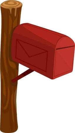 Boîte aux lettres illustration