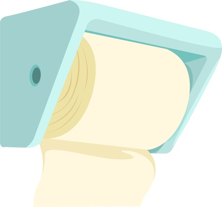 illustration Paper Cleaning  Vector