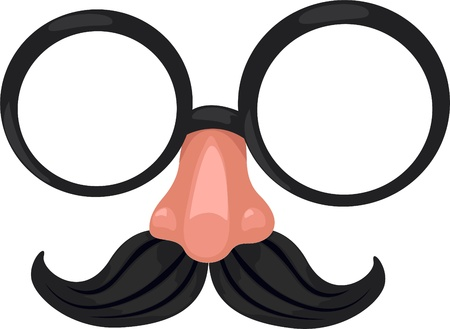 noses: Illustration Clown glasses Vector File