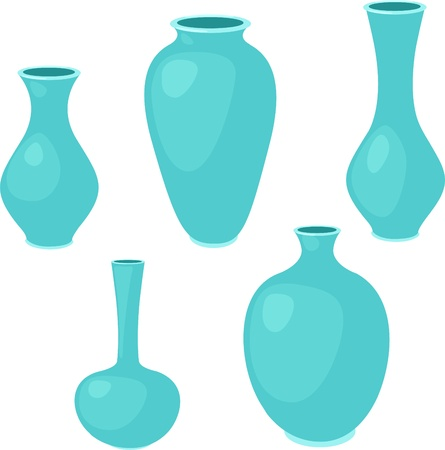 glass vase: Vase set