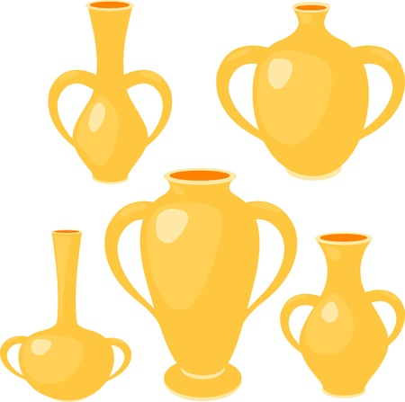 Vase set Stock Vector - 12125521