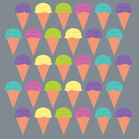 illustration Ice cream