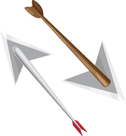 illustration arrow Stock Vector - 12409139