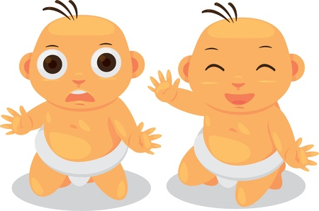 illustration baby Vector