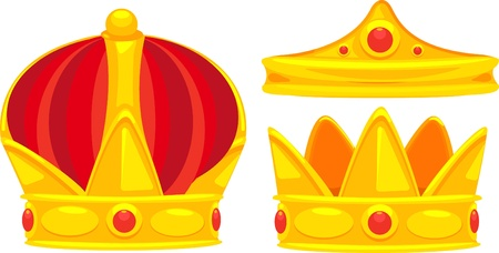 illustration crown Vector