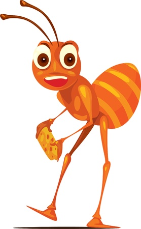 plagas: ilustraci�n de la hormiga