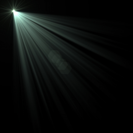 lens flare: Abstract image of  lighting flare