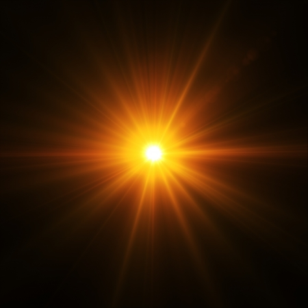 flash light: Abstract image of  lighting flare