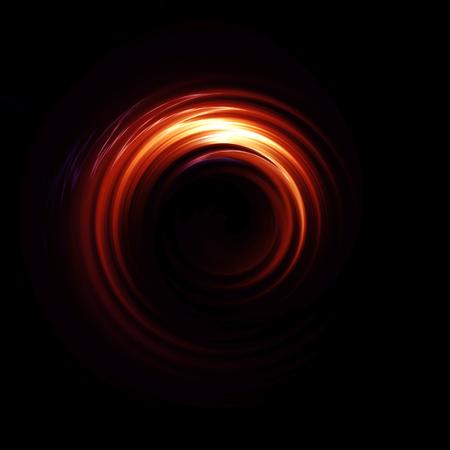 llamarada circular con rayos