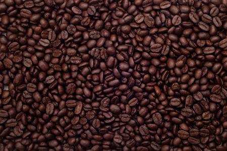コーヒー豆の背景 写真素材