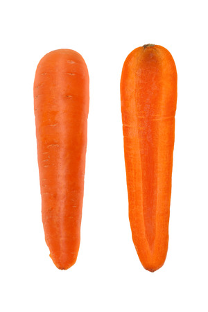 Carrot isolated on white background Imagens