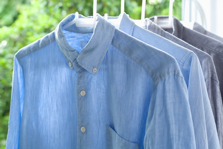 ironed: ironing housework ironed folded shirts clean concept still life garment apparel cloth indoors