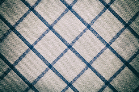 gingham: blue white vintage texture fabric cotton background cotton textile tablecloth gingham old vintage effect