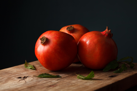 antioxidant: pomegranate fruit healthy food fresh organic still life vegetarian juicy antioxidant