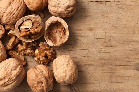 walnuts healthy fruit rustic still life vegetarian food