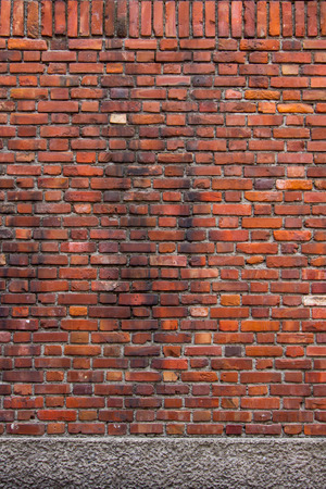 sorted: Sorted old orange brick wall textures and background