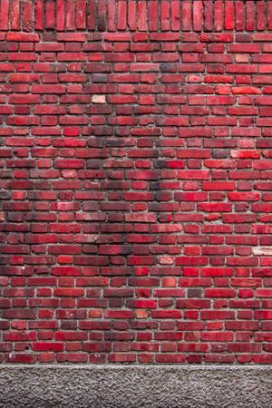 sorted: Sorted old red brick wall textures and background