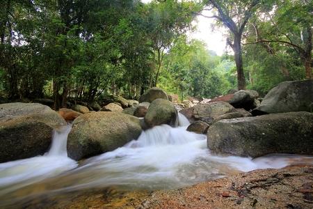 lad: Hin Lad Waterfall. Koh Samui, Thailand
