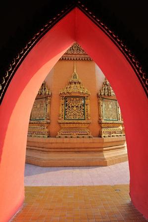 kanchanaburi: Wat Thum Sua, Kanchanaburi Province, Thailand Stock Photo