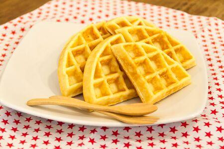 waffle: Butter Waffle