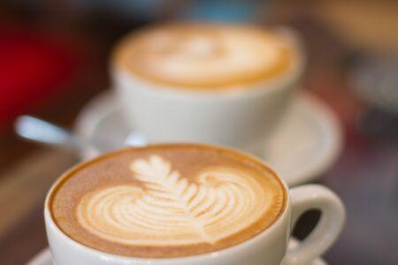capuchino: Coffee late soft focus