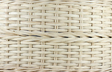 wooden vector mesh: Original weave pattern basket