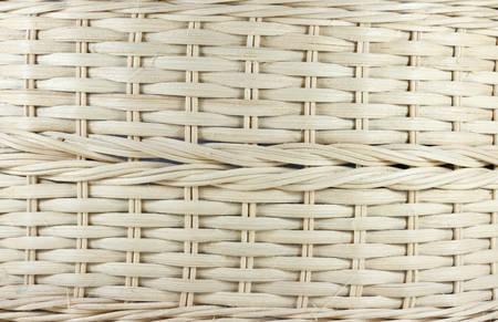 wooden vector mesh: Original weave pattern basket