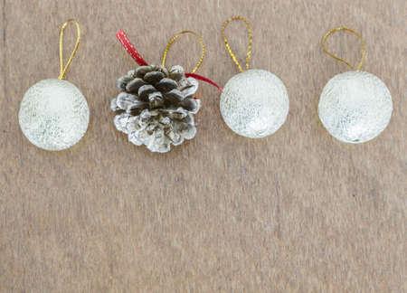 decorative accessories: Christmas concept, decorative accessories for Christmas.