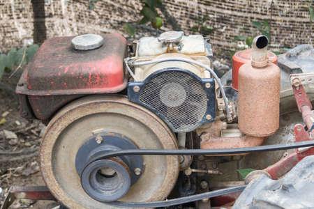 engine: Old engine closeup