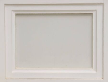 White Picture Frames Old Plaster Walls For Texture Background Stock