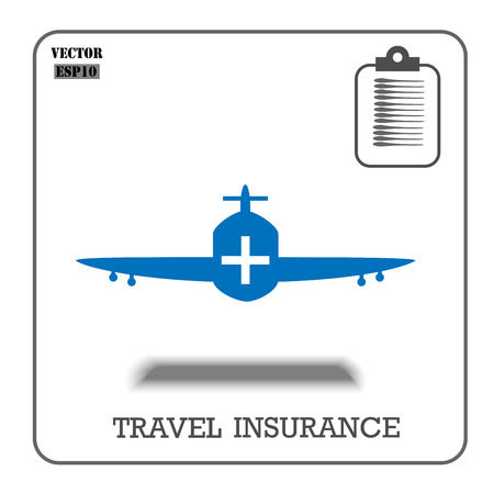 case: Air insurance , Vector illustrator design EPS10. Illustration