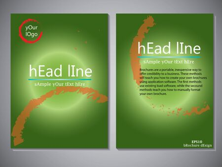 er: Template of book cover for brochure,flyer,annual report .