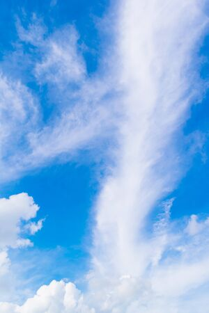 open windows: Beautiful of blue sky with white cloud for texture background. Concept idea background.