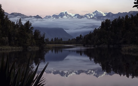 Lake Matheson photo