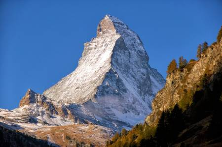 Matterhorn peak, Switzerland photo