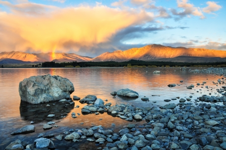 lake tekapo New Zealand photo