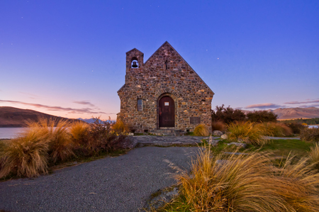 Church in New Zealand photo