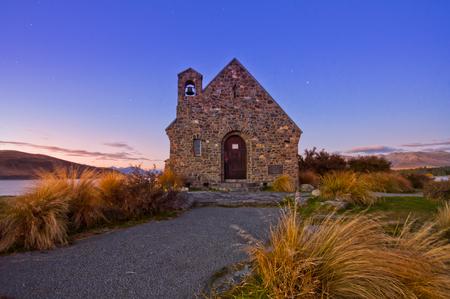 Church in New Zealand photo