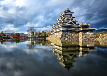 honshu: Matsumoto Castle is one of the most complete and beautiful among Japan s original castles